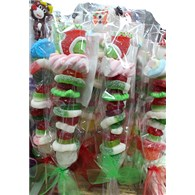 christmas- candy kabob