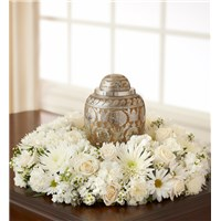 white-cremation-wreath-urn-flowers