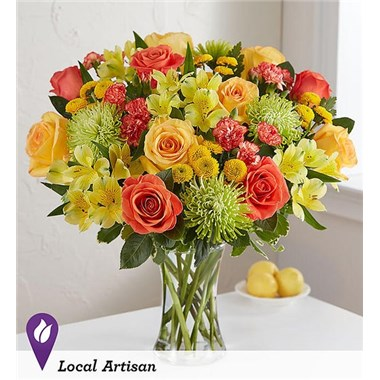 citrus-sunshine-bouquet-with-bright-colored-blooms-yellow-green-orange